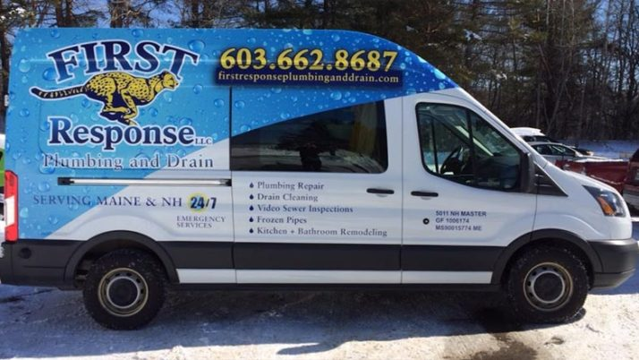 Choose First Response Plumbing and Drain in NH and ME